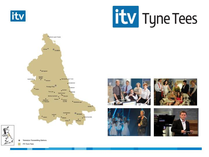 Itv1 tyne tees reaches a staggering 84 of adults in the average week