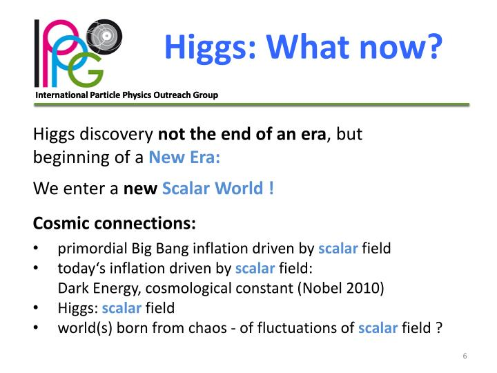 Higgs: What now?
