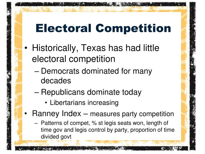 Electoral Competition