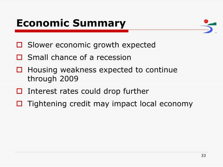 Economic Summary