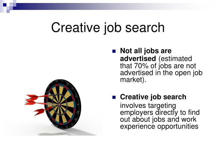 Creative job search