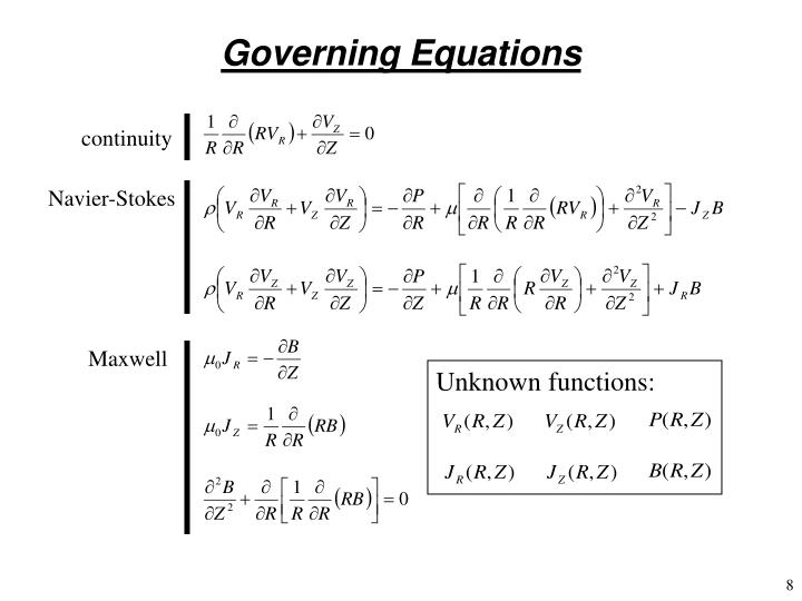 Unknown functions: