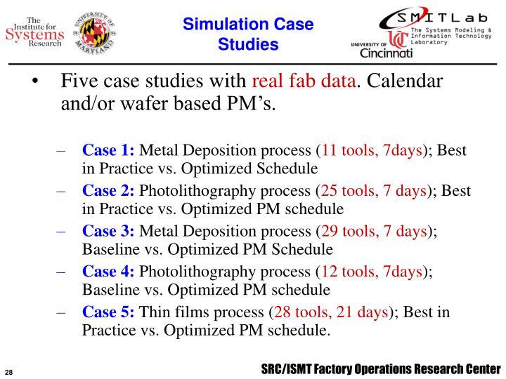 Simulation Case