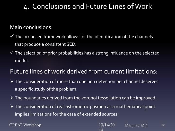 4.  Conclusions and Future Lines of Work.