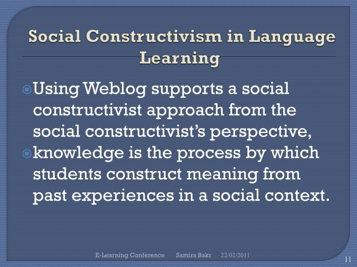 Social Constructivism in Language Learning
