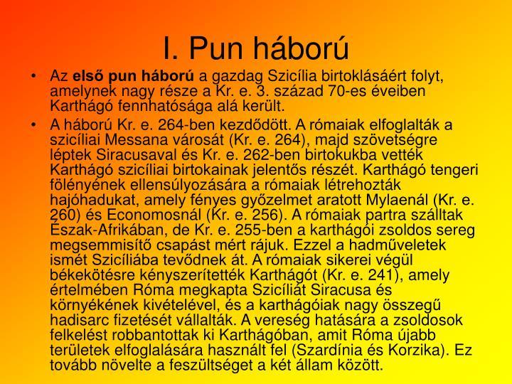 I. Pun hbor