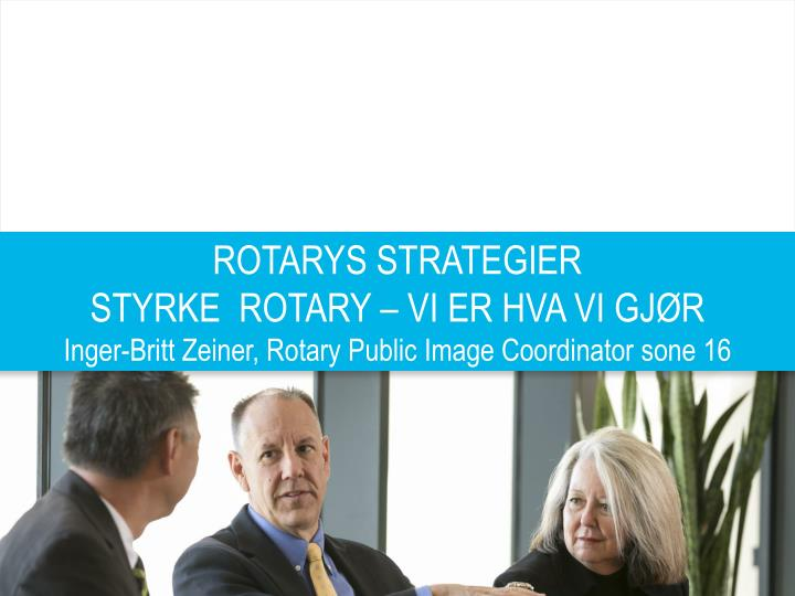 ROTARYS STRATEGIER