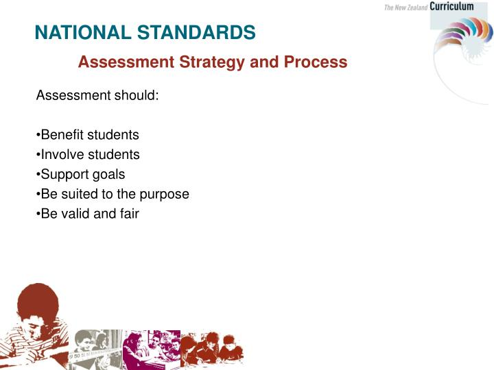 Assessment Strategy and Process