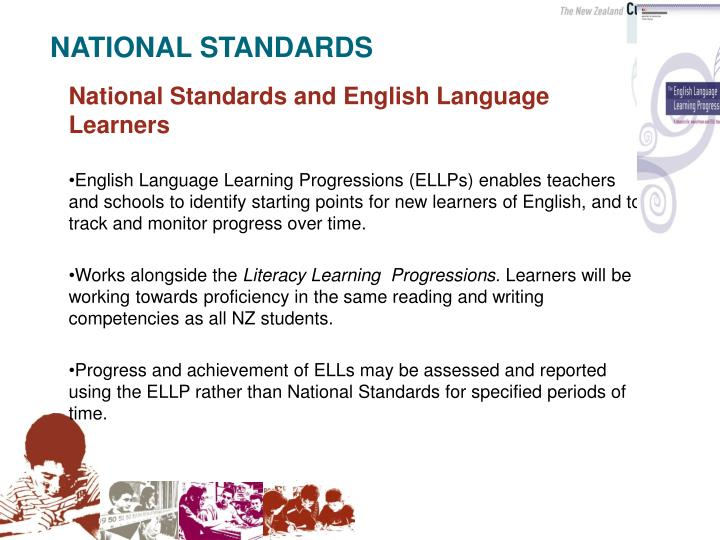 National Standards and English Language Learners