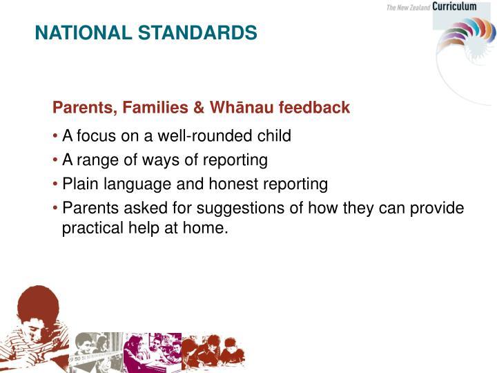Parents, Families & Wh