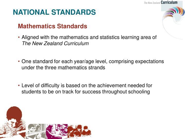 Mathematics Standards
