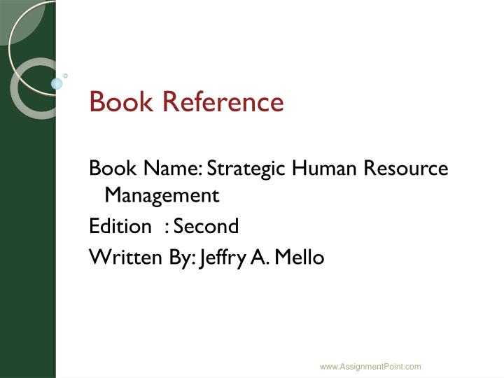 Book Reference