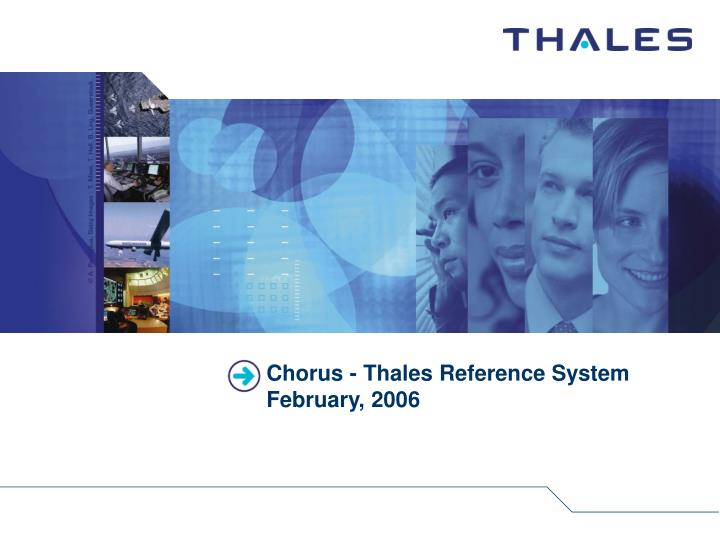 Chorus thales reference system february 2006