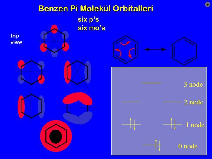 Benzen Pi Mole