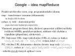 google idea mapreduce