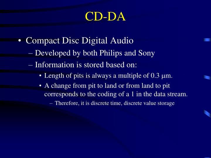 CD-DA