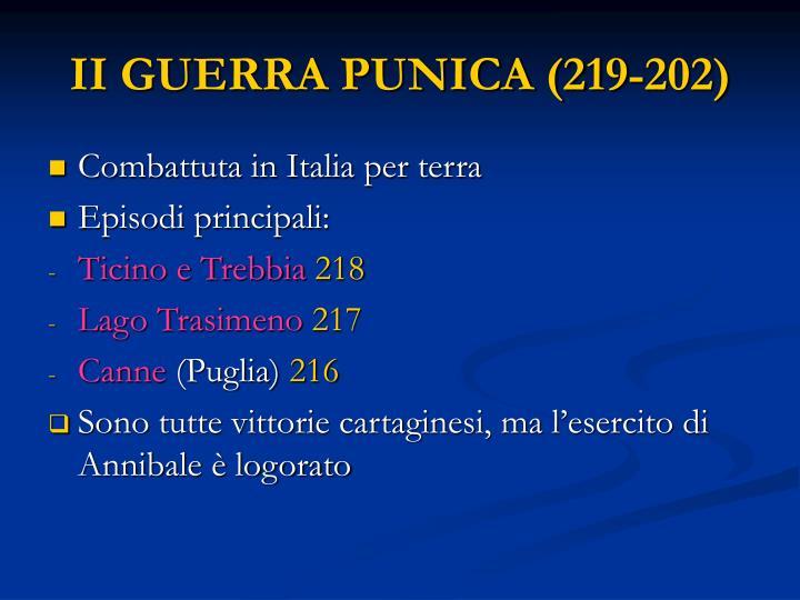 II GUERRA PUNICA (219-202)