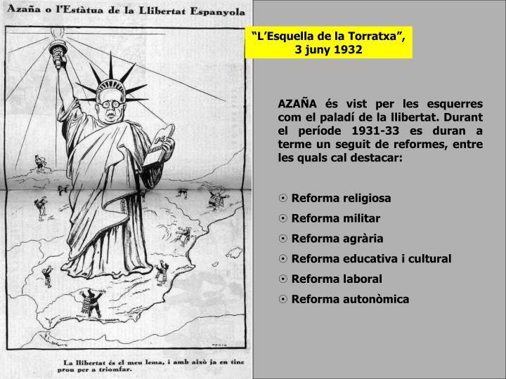 """""""L'Esquella de la Torratxa"""", 3 juny 1932"""