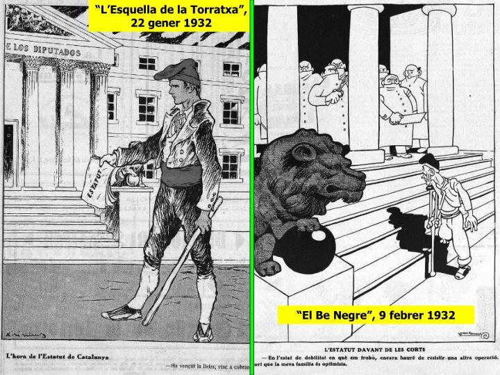 """""""L'Esquella de la Torratxa"""", 22 gener 1932"""