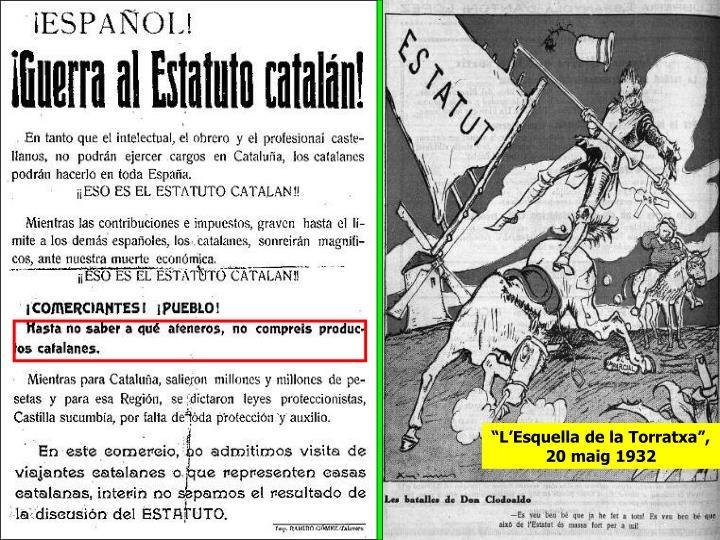 """""""L'Esquella de la Torratxa"""", 20 maig 1932"""