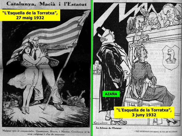 """""""L'Esquella de la Torratxa"""", 27 maig 1932"""