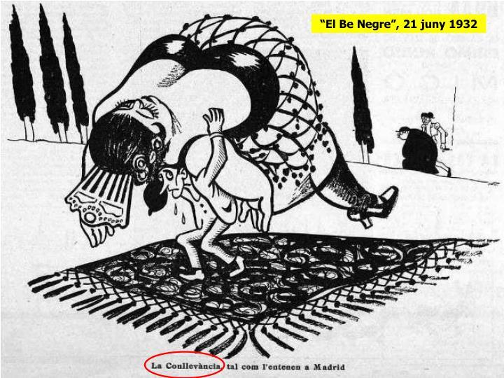 """""""El Be Negre"""", 21 juny 1932"""