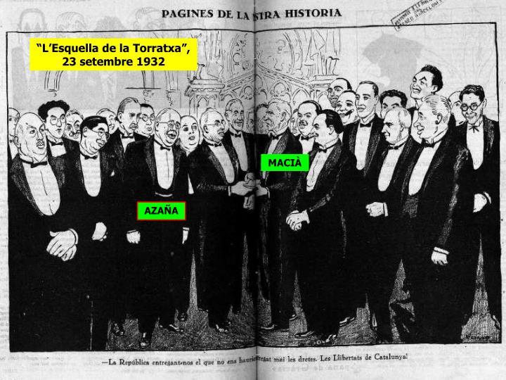 """""""L'Esquella de la Torratxa"""", 23 setembre 1932"""