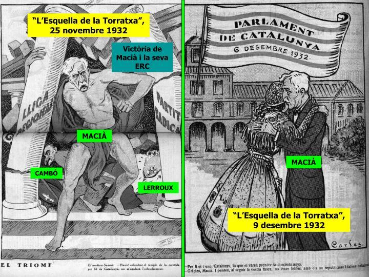 """""""L'Esquella de la Torratxa"""", 25 novembre 1932"""