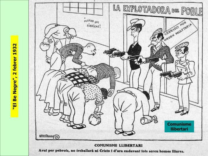 """""""El Be Negre"""", 2 febrer 1932"""