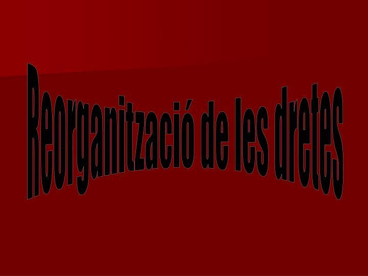 Reorganització de les dretes
