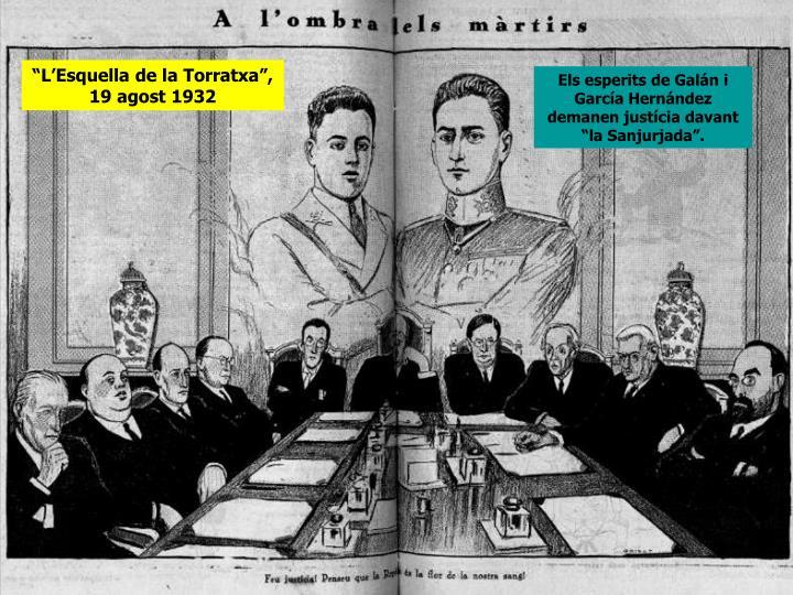 """""""L'Esquella de la Torratxa"""", 19 agost 1932"""