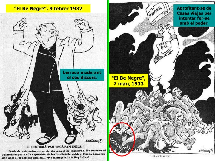 """""""El Be Negre"""", 9 febrer 1932"""