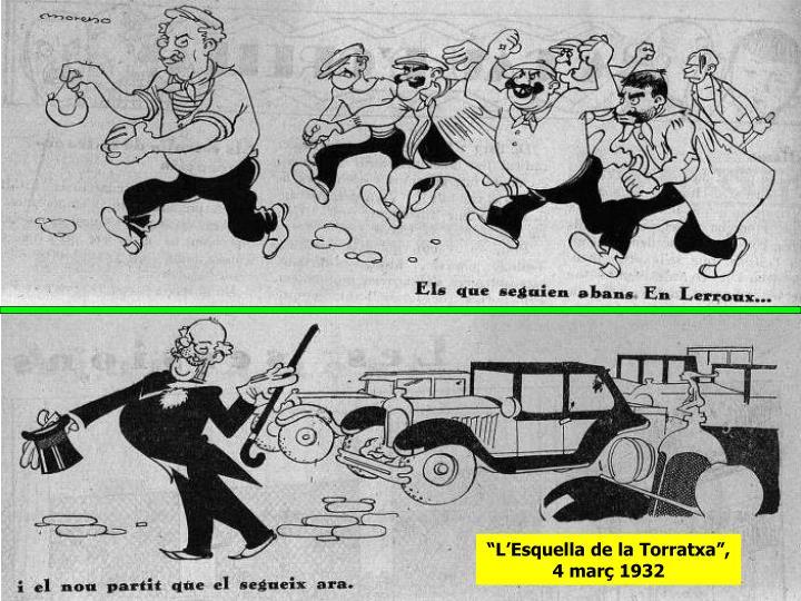 """""""L'Esquella de la Torratxa"""", 4 març 1932"""