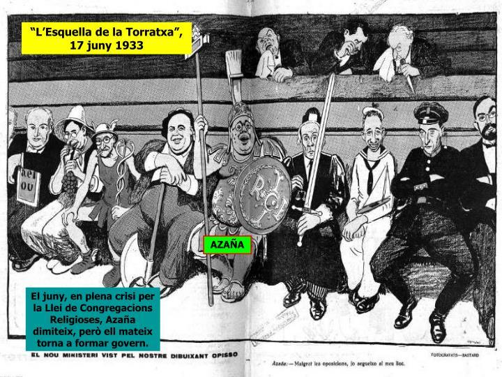 """""""L'Esquella de la Torratxa"""", 17 juny 1933"""