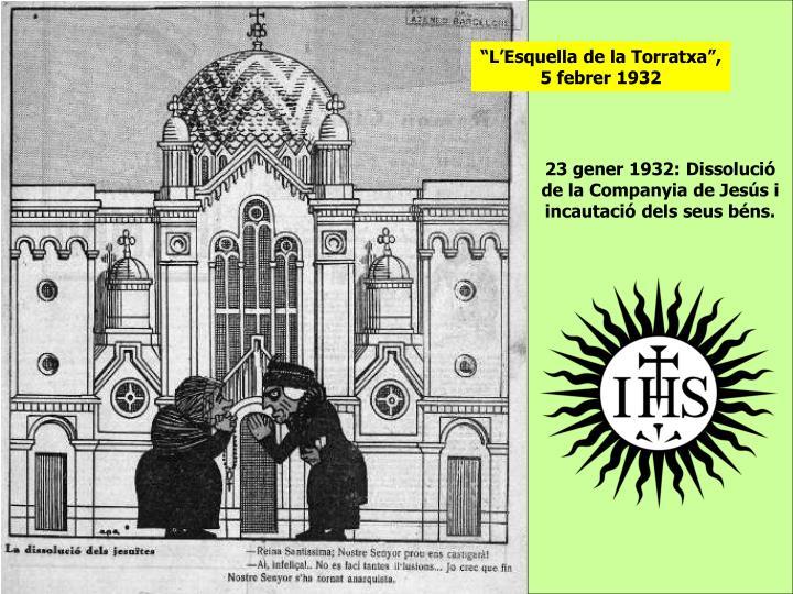 """""""L'Esquella de la Torratxa"""", 5 febrer 1932"""