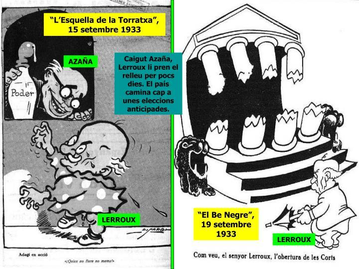 """""""L'Esquella de la Torratxa"""", 15 setembre 1933"""