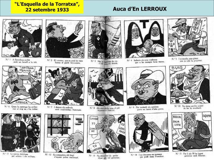"""""""L'Esquella de la Torratxa"""", 22 setembre 1933"""