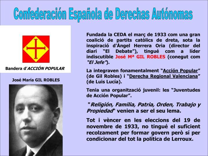 Confederación Española de Derechas Autónomas