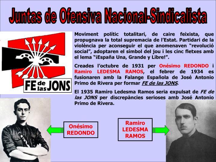 Juntas de Ofensiva Nacional-Sindicalista