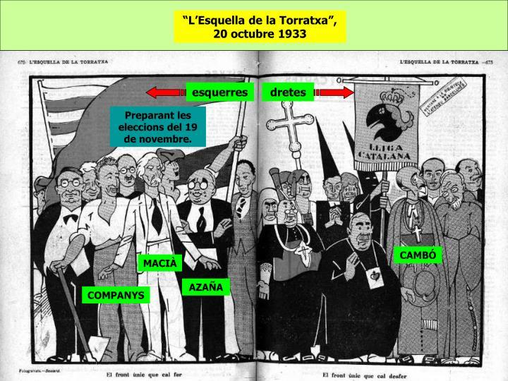 """""""L'Esquella de la Torratxa"""", 20 octubre 1933"""
