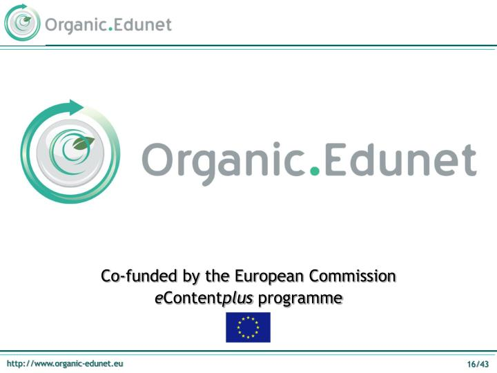 Co-funded by the European Commission