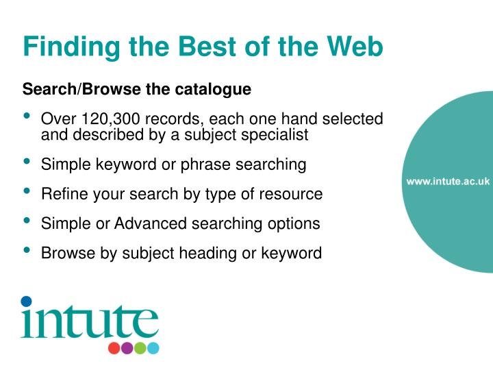 Finding the Best of the Web