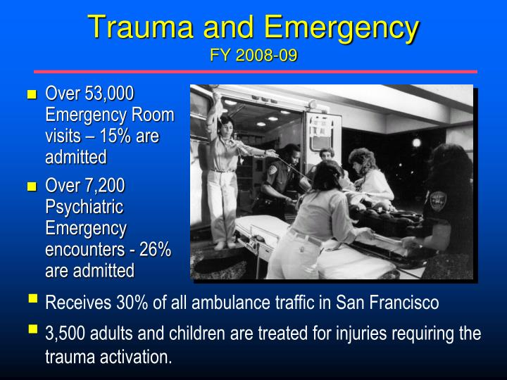 Trauma and Emergency