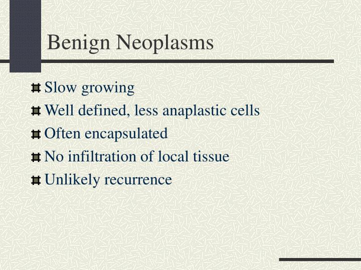 Benign Neoplasms