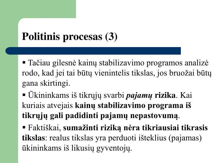 Politinis procesas
