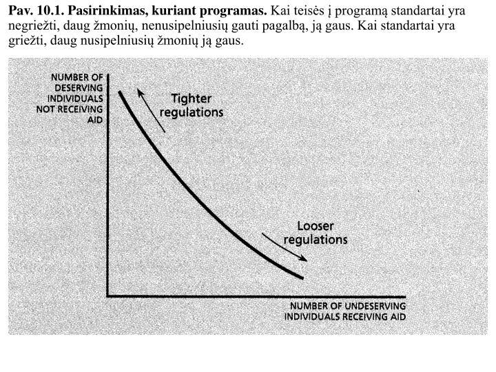 Pav. 10.1. Pasirinkimas, kuriant programas.