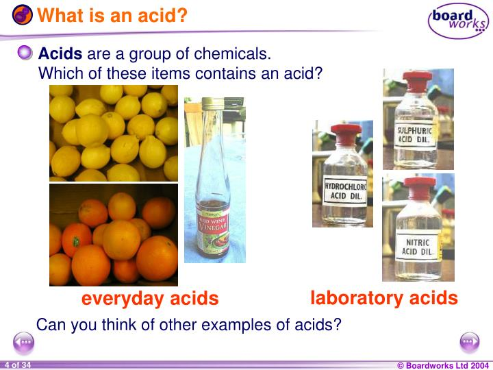 What is an acid?