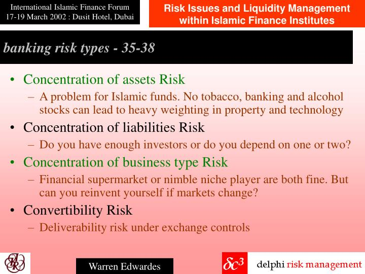 banking risk types - 3