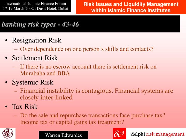 banking risk types - 4