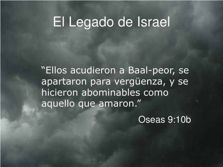El Legado de Israel